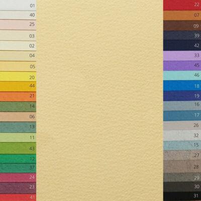 Fabriano Tiziano színes rajzpapír, A4 - 03, banana