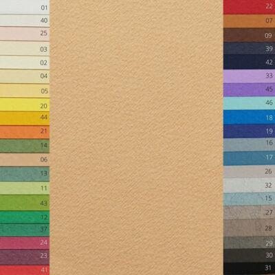 Fabriano Tiziano színes rajzpapír, 50x65 cm - 06, mandorla