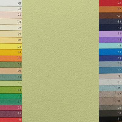 Fabriano Tiziano színes rajzpapír, A4 - 11, verduzzo