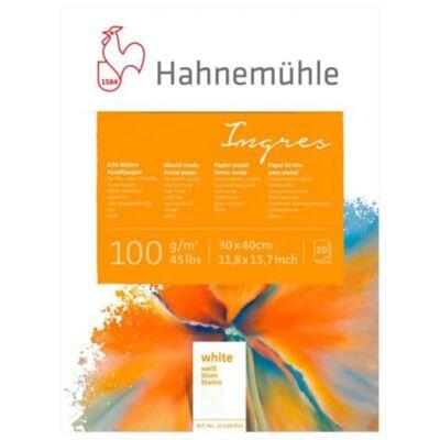 Hahnemühle Ingres tömb, 100 g, 20 lap, fehér - 30x40 cm