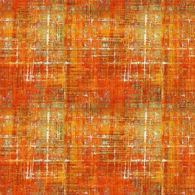 Patchwork anyag - Free Spirit - Abandoned II. by Tim Holtz 144SIENNA