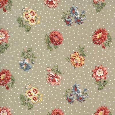 Patchwork anyag - Moda - Jardin de Fleurs by French General Designs 13893-21