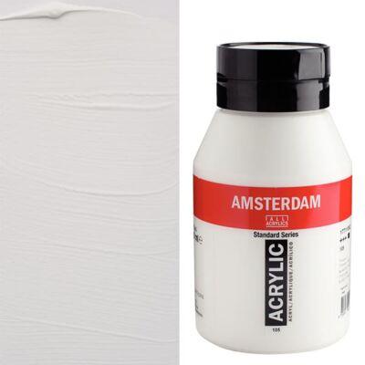 Talens Amsterdam akrilfesték, 1000 ml - 105, titanium white