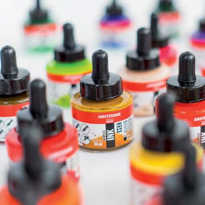 Talens Amsterdam akriltinta, 30 ml - különféle színekben