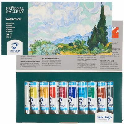 Talens Van Gogh National Gallery akvarellfesték készlet - 10x10 ml