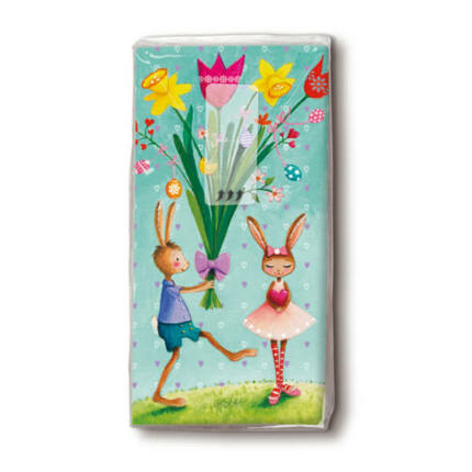 Papírzsebkendő csomag - Húsvéti üdvözlet
