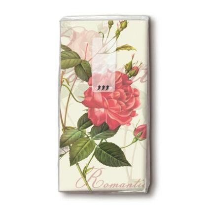 Papírzsebkendő csomag - Rózsa