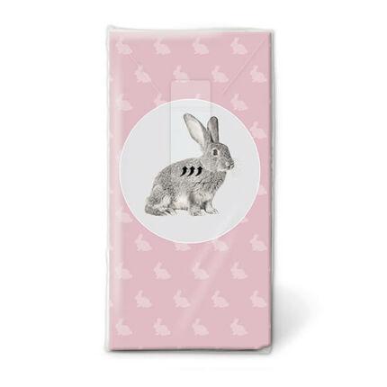 Papírzsebkendő csomag - Nyuszi