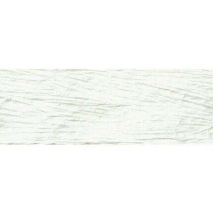 Batikolt papírszalag tekercsben - 9,5 m - fehér
