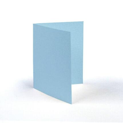 Paszpartu kártya, teli, A6 - világoskék, 2 részes