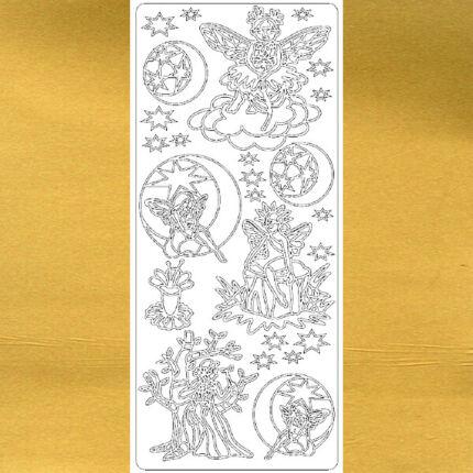 Kontúrmatrica - tündérek, arany, 1924 - AKCIÓS