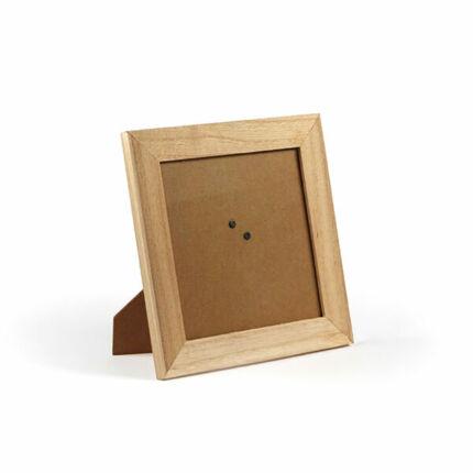 Fa képkeret, négyzet - 18,5x18,5x0,9 cm (13,3x13,3 cm)