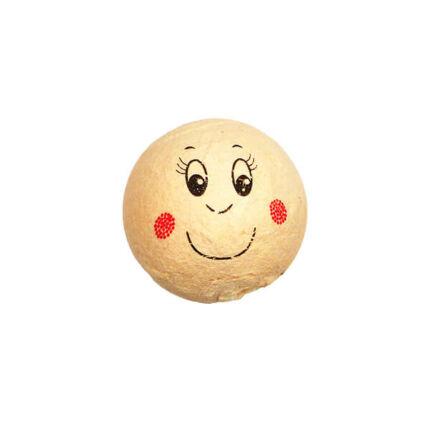 Préseltpapír fej - Babafej, mosolygó, gömbölyű, 2,5 cm