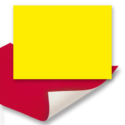 Plakát karton, 24x34 cm - citromsárga