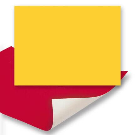 Plakát karton, 24x34 cm - banánsárga
