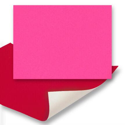 Plakát karton, 48x68 cm - neon pink