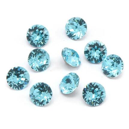 1028 Swarovski Xilion Chaton PP13 - Light Turquoise