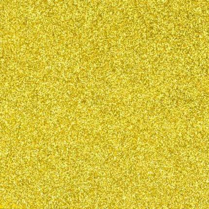 Dekorgumi - csillámos arany
