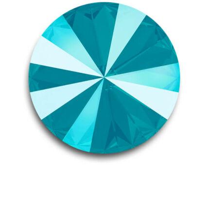 1122 Swarovski Rivoli SS50 (12 mm) - Crystal Azore Blue