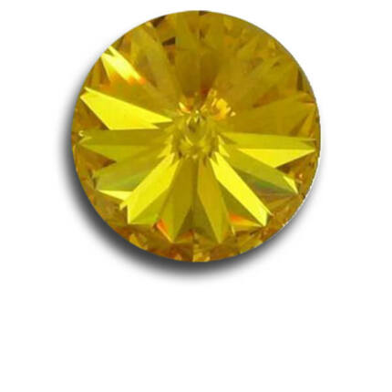 1122 Swarovski Rivoli SS39 (8 mm) - Sunflower