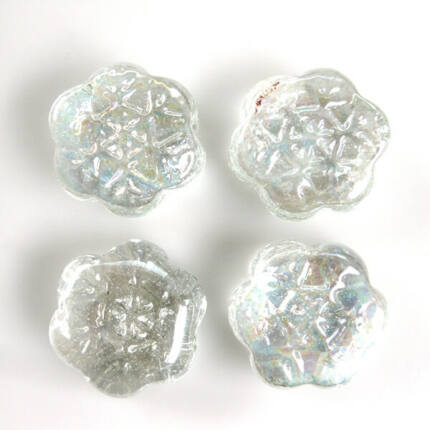 Üvegforma, darabra - hópehely
