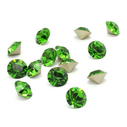 1028 Swarovski Xilion Chaton PP13 - Fern Green