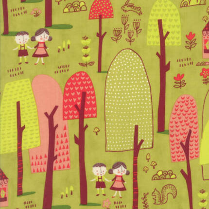 Akció! Patchwork anyag - Moda - Just Another Walk in the Woods 20521-18