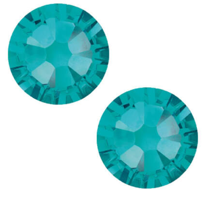 2038 Swarovski Xilion Rose Hotfix vasalható kristály, SS10 (2,8 mm) - Blue Zircon