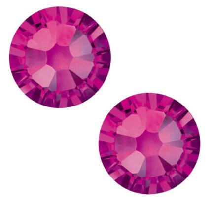 2058 Swarovski Xilion Rose Hotfix vasalható kristály, SS10 (2,8 mm) - Fuchsia