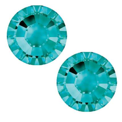 2058 Swarovski Xilion Rose Hotfix vasalható kristály, SS10 (2,8 mm) - Light Turquoise