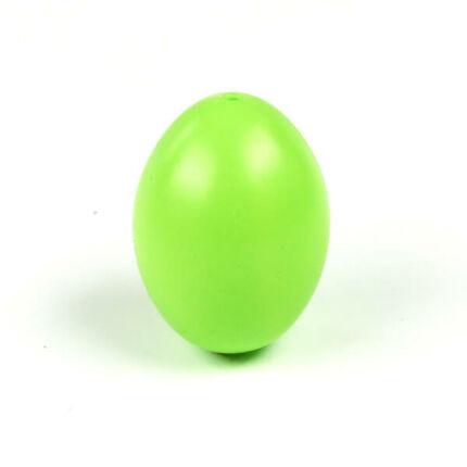 Műanyag tojás 6x4 cm - 61, világoszöld