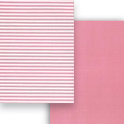 Fotókarton, A4 - matt csíkos, rózsaszín