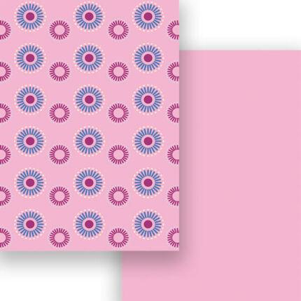 Fotókarton, A4 - forgó, rózsaszín