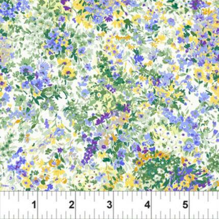 Patchwork anyag - In The Beginning - Garden Delights 1633GSE-3