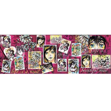 Esprimo decoupage papír - Manga lány