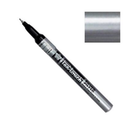 Pen-touch lakkfilc - silver, 0,7 mm, extra fine