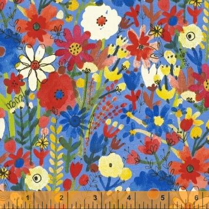Akció! Patchwork anyag - Windham - Flower Pedals 41250-1