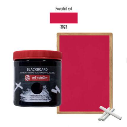 Táblafesték, Art Creation, 250 ml - 3023 Powerfull red