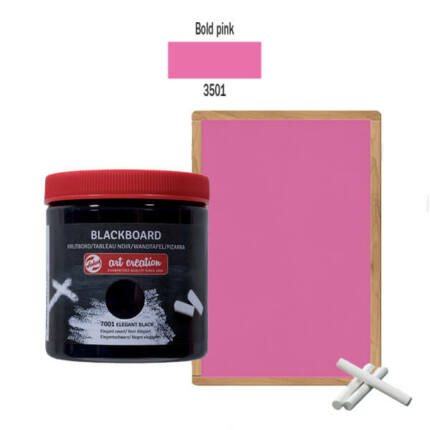 Táblafesték, Art Creation, 250 ml - 3501 Bold pink