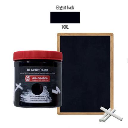Táblafesték, Art Creation, 250 ml - 7001 Elegant black