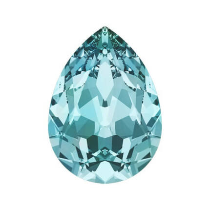 4320 Swarovski csepp alakú befoglalható kristály, 14x10 mm - Light Turquoise