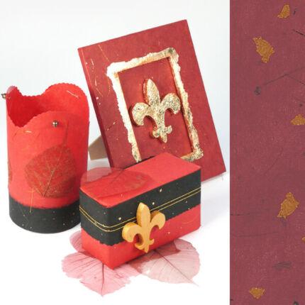 Golden Star rostpapír, A4 - bordó, 35 g