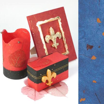 Golden Star rostpapír, 50x70 cm - kék, 35 g