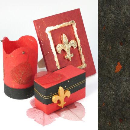 Golden Star rostpapír, 50x70 cm - fekete, 35 g
