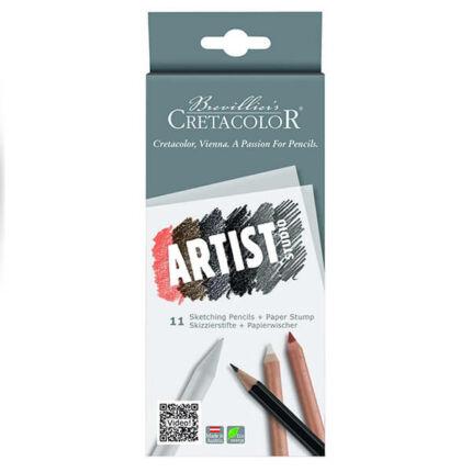 Cretacolor Artist Studio vázlatceruza készlet - 11 db