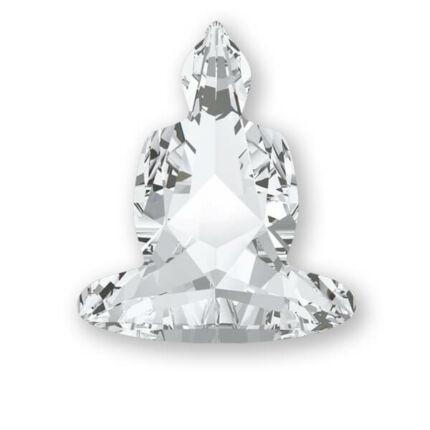 4779 Swarovski Buddha befoglalható kő, 18x15,6 mm - Crystal