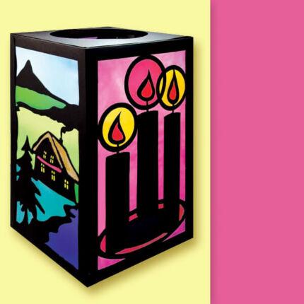 Transzparens zsírpapír, 70x100 cm, tekercs, 42 g - 24, pink