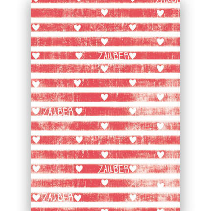 Transzparens papír, A4 - Varázslatos szívek