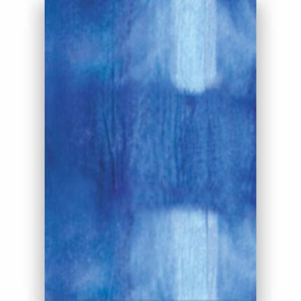 Transzparens papír, A4 - batikos kék