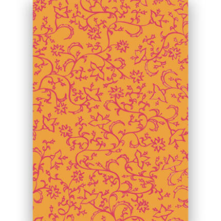 Transzparens papír, A4 - Millefiori narancs